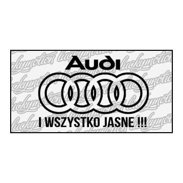 Audi Wszystko Jasne 11 cm