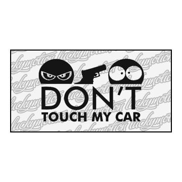 Dont Touch My Car Gun 11 cm