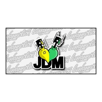 JDM Heart 9 cm