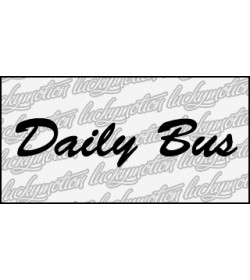 Daily Bus 70 cm