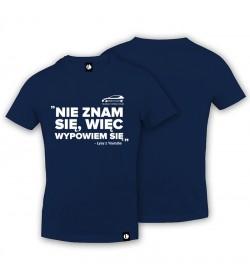 T-shirt Nie Znam Się
