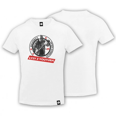 T-shirt Łysy z YouTube