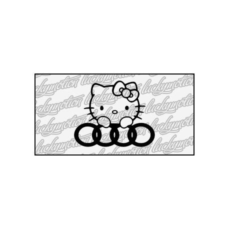 Audi Hello Kitty 12 cm