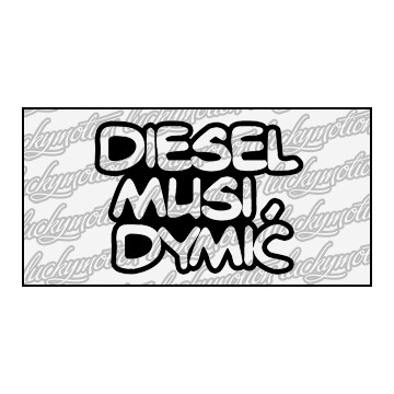 Diesel Musi Dymić 9 cm