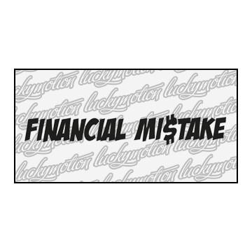 Financial Mistake 50 cm