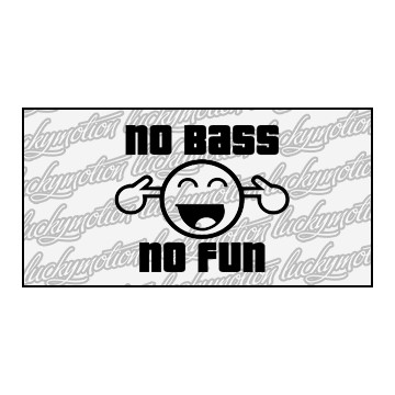 No Bass No Fun 8 cm