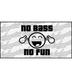 No Bass No Fun 11 cm
