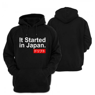 Bluza z kapturem Start In Japan