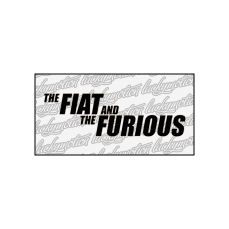 Fiat And Furious 16 cm