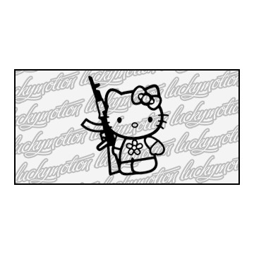 Hello Kitty Gun 9 cm