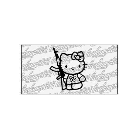 Hello Kitty Gun 9 cm