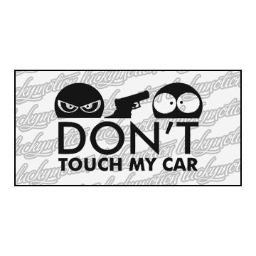 Dont Touch My Car Gun 11 cm