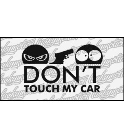 Dont Touch My Car Gun 12 cm