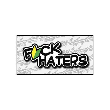 Fck Haters 12 cm