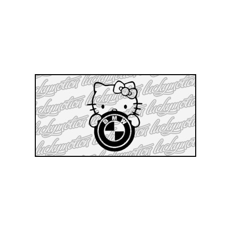 BMW Hello Kitty 10 cm