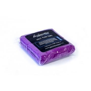 Fibra Violet Plush Towel