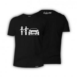 T-shirt Audi A4 B7 Love