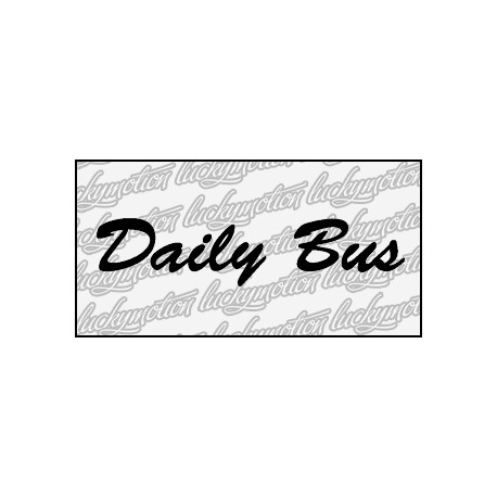 Daily Bus 70 cm