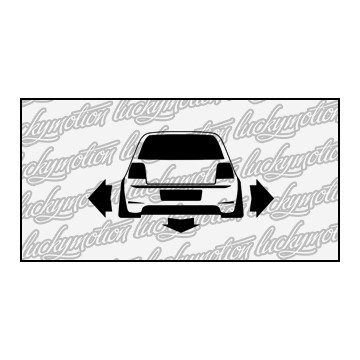 Golf IV Low Wide 10 cm