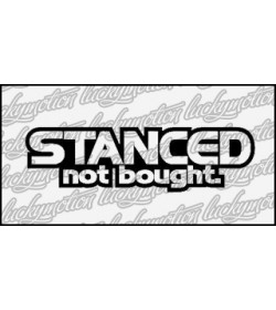 Stanced Not Bought 14 cm