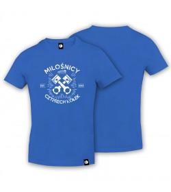 T-shirt Miłośnicy Czterech Kółek