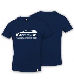 T-shirt Miłośnicy Czterech Kółek - Zrób To Sam