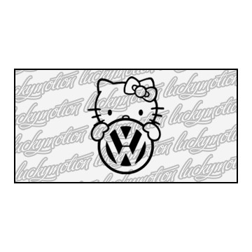 Volkswagen Hello Kitty 10 cm