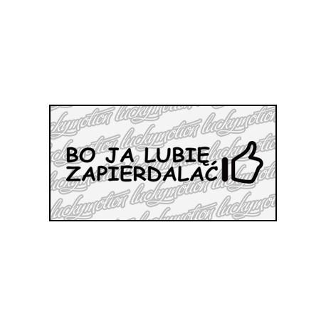 Bo Ja Lubie Zapier 18 cm