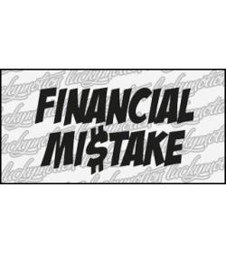 Financial Mistake 12 cm