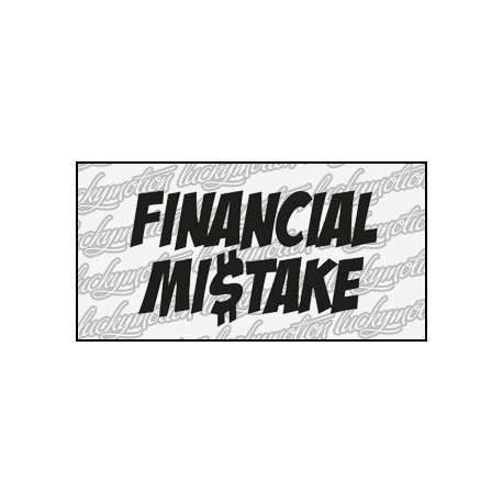 Financial Mistake 12 cm