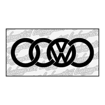 Audi Volkswagen Collabo 15 cm